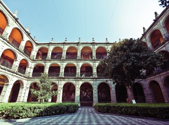 Resultado de imagen para antiguo colegio de san ildefonso