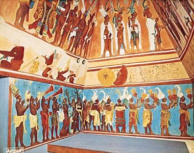 Historias pintadas en Bonampak