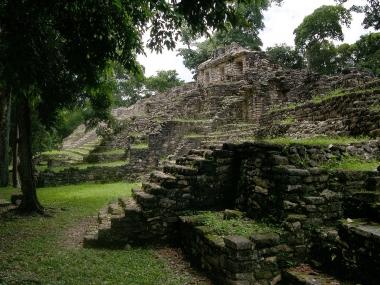 Yaxchilán, recinto de