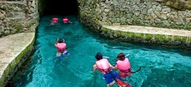 Riviera Maya: un espectáculo subacuático