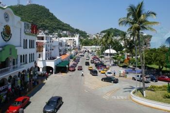 El centro histórico de Manzanillo colimna