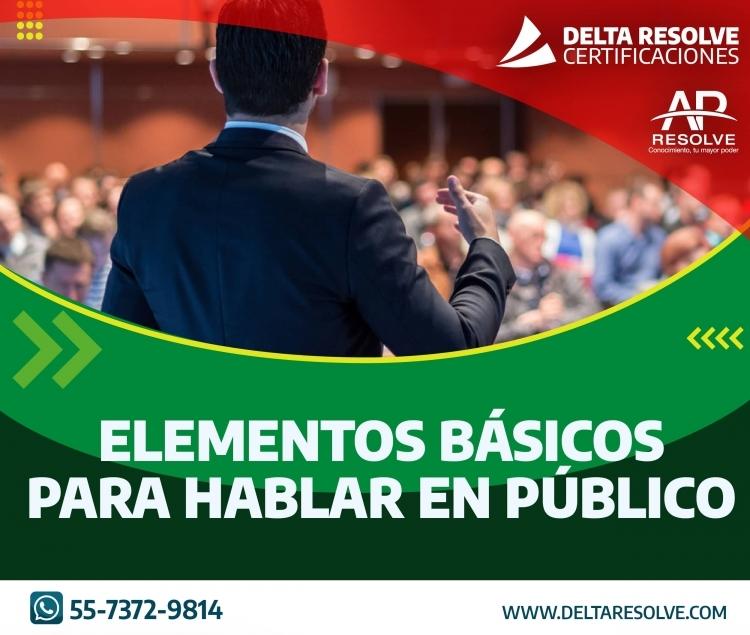 06 Agt. 2021 ONLINE Elementos Básicos para Hablar en Público