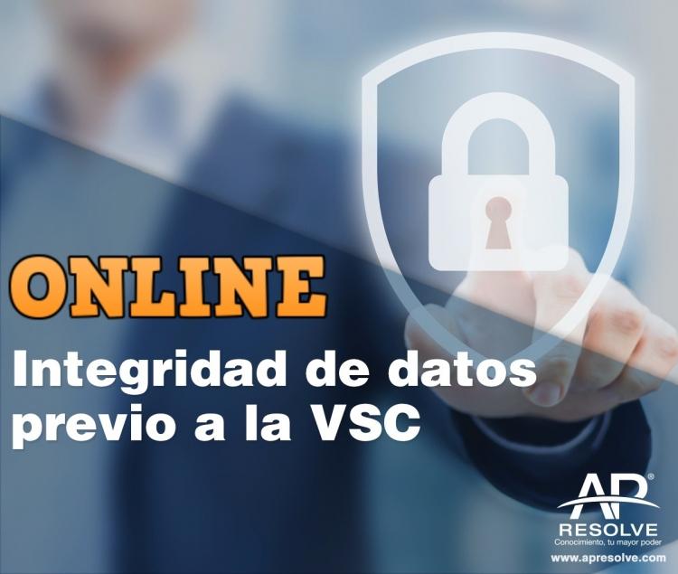 23 Jun. 2020 ONLINE Integridad de Datos (previo a la validación del Sistema Computarizado)