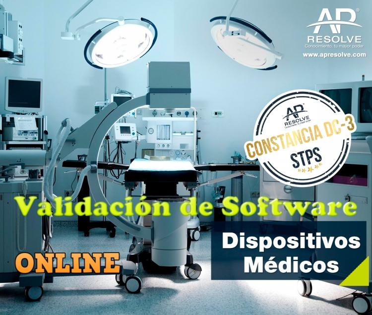 25 Feb. 2021 ONLINE Validación de Software, aplicado a Dispositivos Médicos