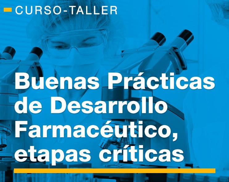 23-24 Abr. 2019 Buenas Prácticas de Desarrollo Farmacéutico