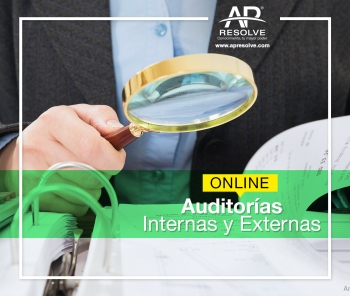 16 Abr. ONLINE Auditorías Internas y Externas