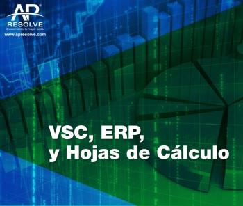 13-14 Mzo. 2019  VSC, ERP y Hojas de Cálculo
