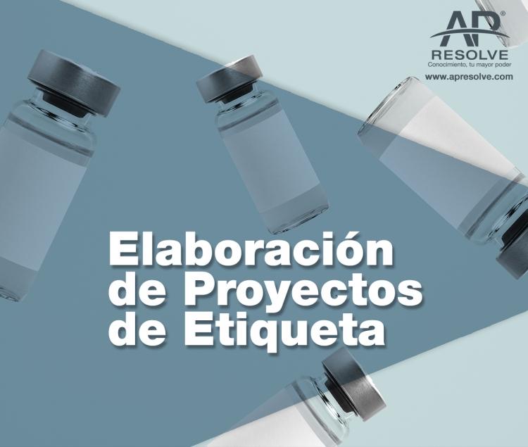 01 Jun. 2021 ONLINE Elaboración de Proyectos de Etiqueta