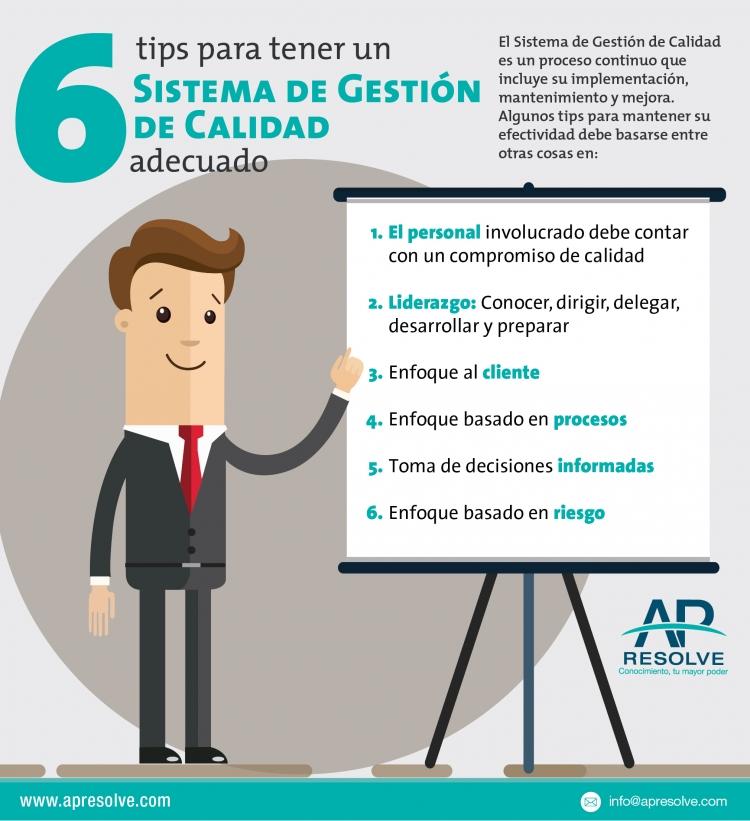 6 TIPS para tener un Sistema de Gestión de Calidad adecuado