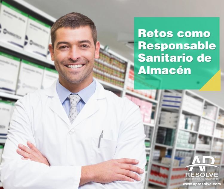 25 Jun. 2018 Principales retos como Responsable Sanitario de Almacenes.