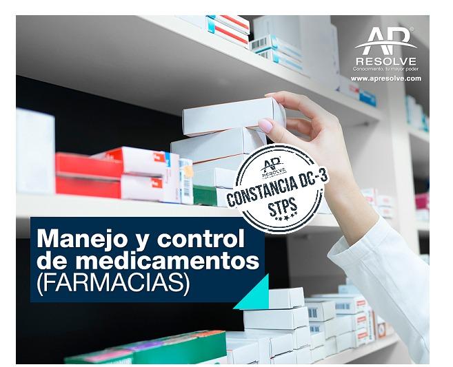 23 Jun. 2021 ONLINE Manejo y Control de Medicamentos (FARMACIAS)
