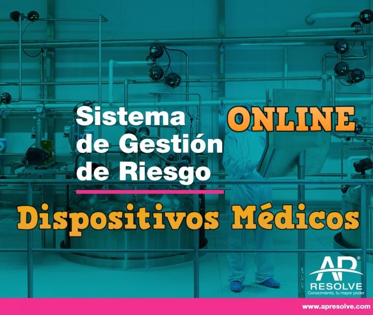 23-24 Nov. 2020 ONLINE Sistema de Gestión de Riesgos (Dispositivos Médicos)