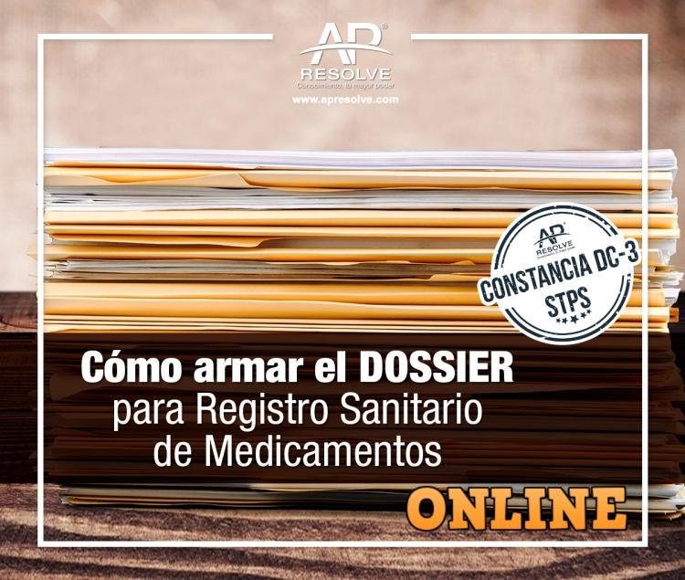 08-09 Oct. 2020 ONLINE DOSSIER, registro sanitario de medicamentos