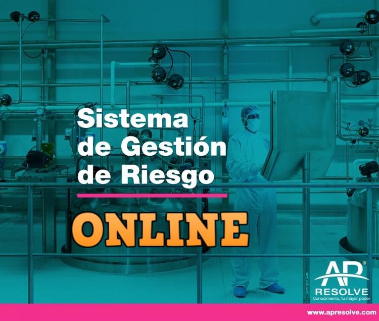 27 May. 2020 ONLINE Sistema de Gestión de Riesgos