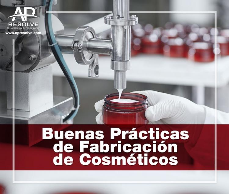 09 Abr. 2021 ONLINE Buenas Prácticas de Fabricación de Cosméticos