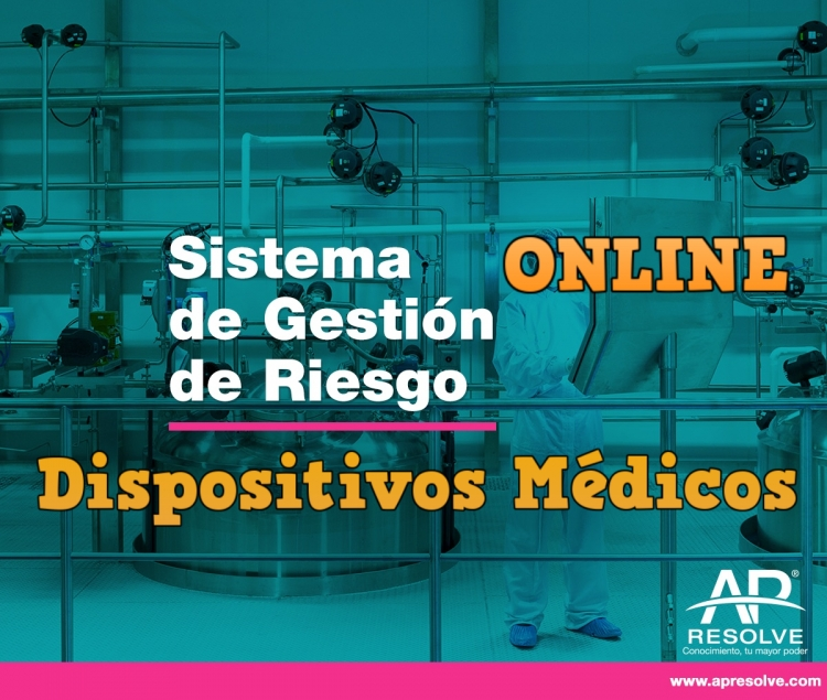 26-27 Oct. 2020 ONLINE Sistema de Gestión de Riesgos (Dispositivos Médicos)