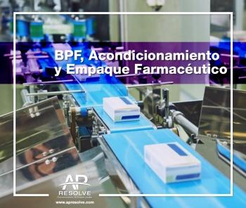 CERRADO 5 Abr. 2019 ONLINE Buenas Prácticas de Fabricación, Acondicionamiento y Empaque Farmacéutico