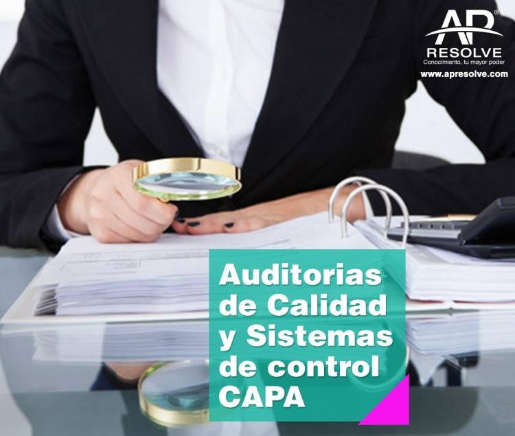 23-24 Mar. 2018 Auditorías de Calidad y Sistema de control CAPA