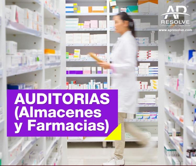22-23 Abr. 2021 ONLINE AUDITORÍAS (Almacenes y Farmacias)