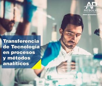 08-09 Oct. 2019 Transferencia de Tecnología en Procesos y Métodos Analíticos