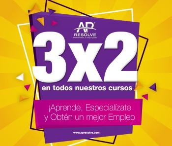 3x2 PROMOCIÓN OCTUBRE 2020