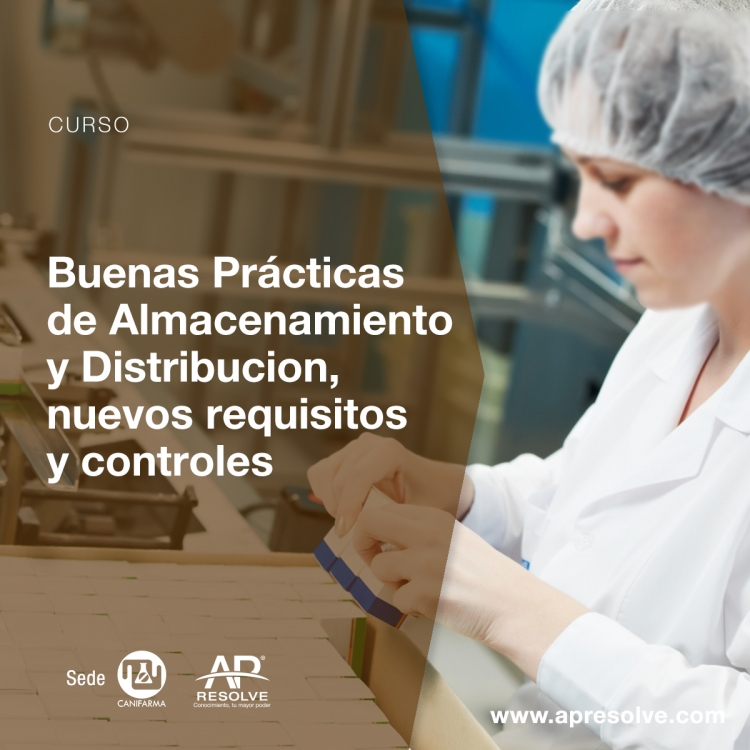 12-13 Jun. 2018 Buenas Prácticas de Almacenamiento y Distribución, nuevos requisitos y controles