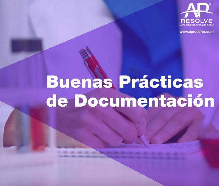 Nueva fecha 09 Myo. 2019 Buenas Prácticas de Documentación