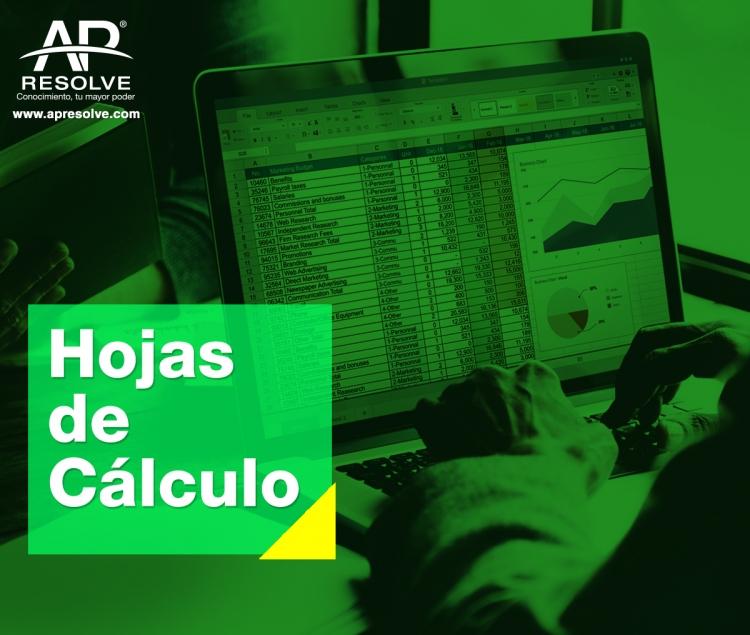 15 May. 2019 MASIVO Hojas de Cálculo: Validación e Integridad de Datos