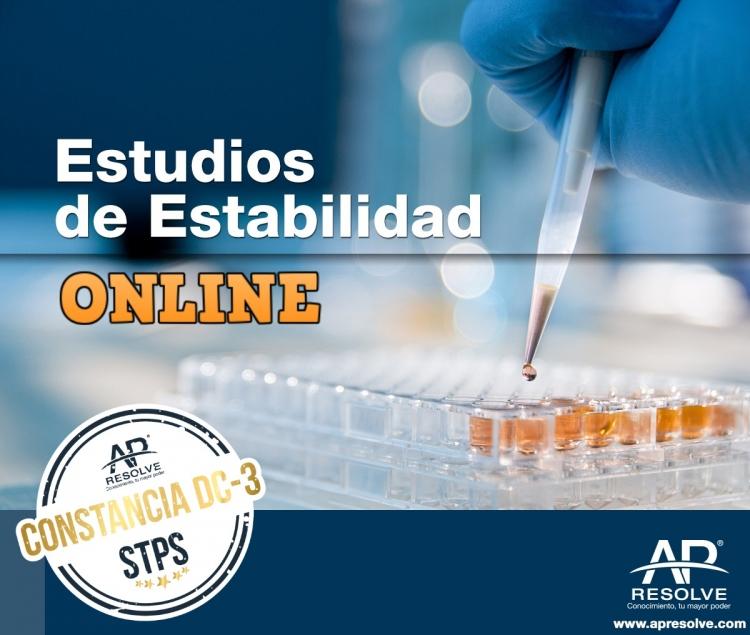 02 Oct. 2020 ONLINE Estudios de Estabilidad (principios básicos)