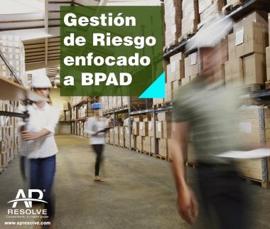 7-8 Nov. 2019 Gestión de Riesgos enfocado a BPAD
