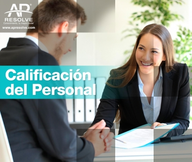 18 Jul. 2019 Calificación del Personal