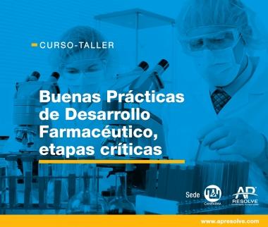 20-21 Agt. 2019 Buenas Prácticas de Desarrollo Farmacéutico