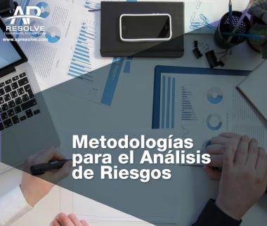 04 Dic. 2019 Metodologías para el Sistema de Gestión de Riesgos