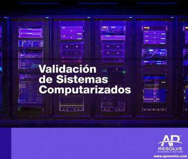 25-26 Sep. 2019 Validación de Sistemas Computarizados, ERP y Hojas de Cálculo