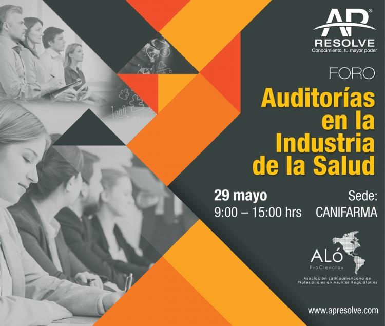 29 May. CANIFARMA Auditorías en la Industria de la Salud