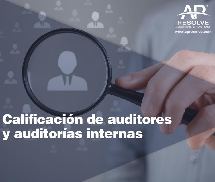 13 Feb. 2021 ONLINE AUDITORIAS: Calificación de Auditores y Auditorías Internas