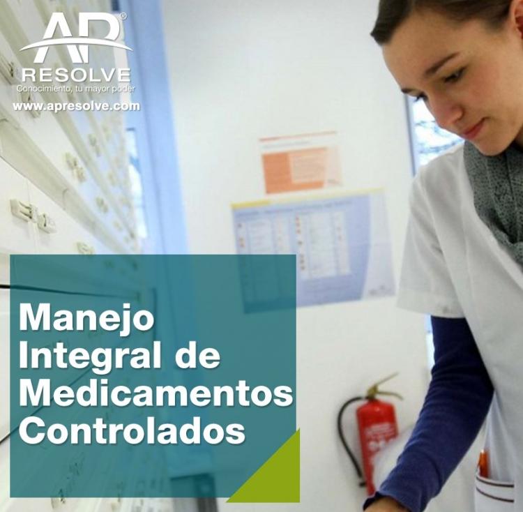 29 Mzo. 2019 ONLINE Manejo Integral de Medicamentos Controlados