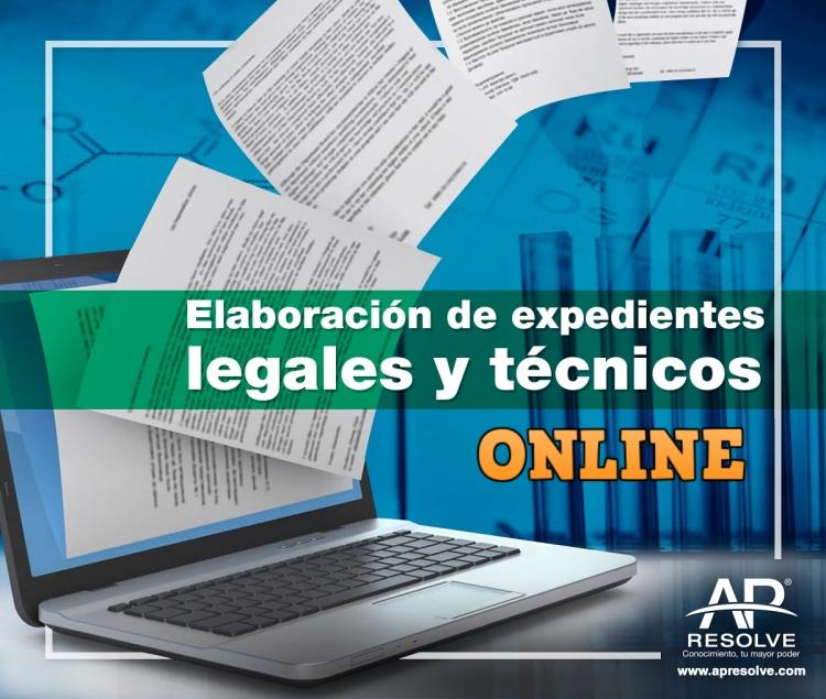 30-31 Jul. 2020 ONLINE Elaboración de expedientes legales y técnicos
