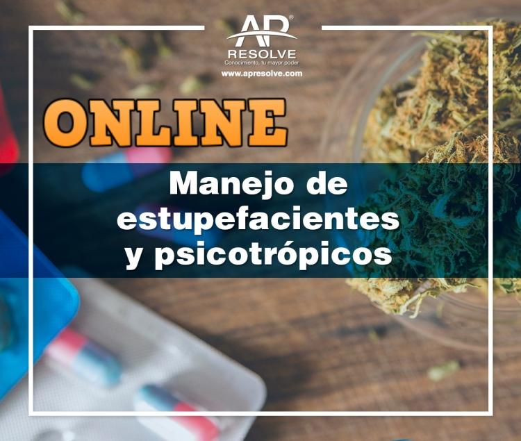 16-17 Dic. 2021 ONLINE Manejo de Estupefacientes y Psicotrópicos (Farmacéutica)
