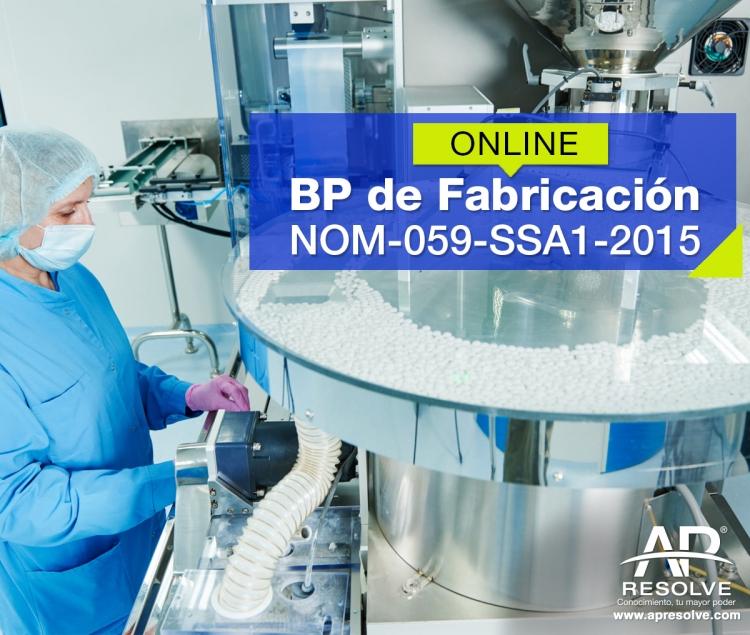 04 Feb. 2020 ONLINE Buenas Prácticas de Fabricación, NOM-059-SSA1-2015