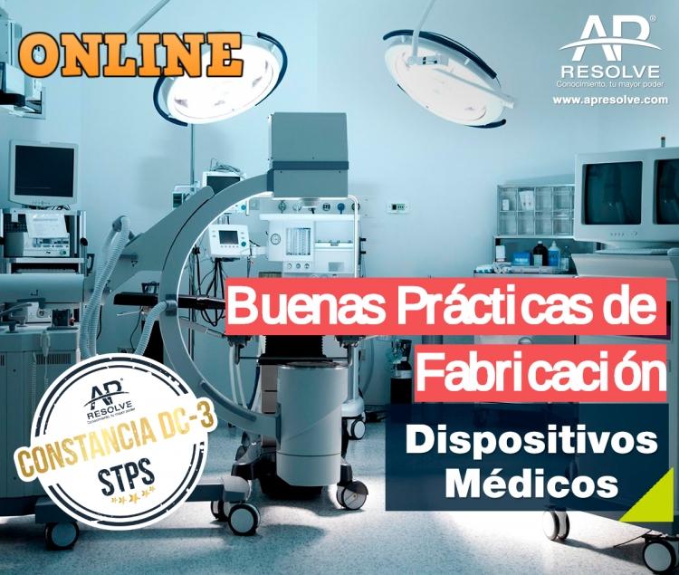07-08 Oct. 2021 ONLINE Buenas Prácticas de Fabricación (Dispositivos Médicos)