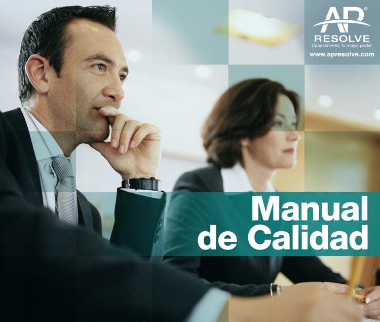 17 Abr. 2020 Manual de calidad, elaboración