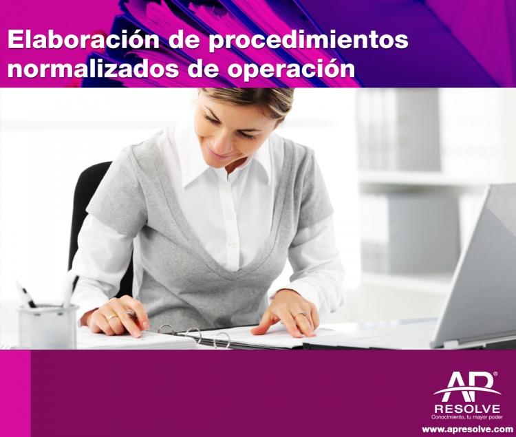 15 May. 2020 Elaboración de Procedimientos Normalizados de Operación
