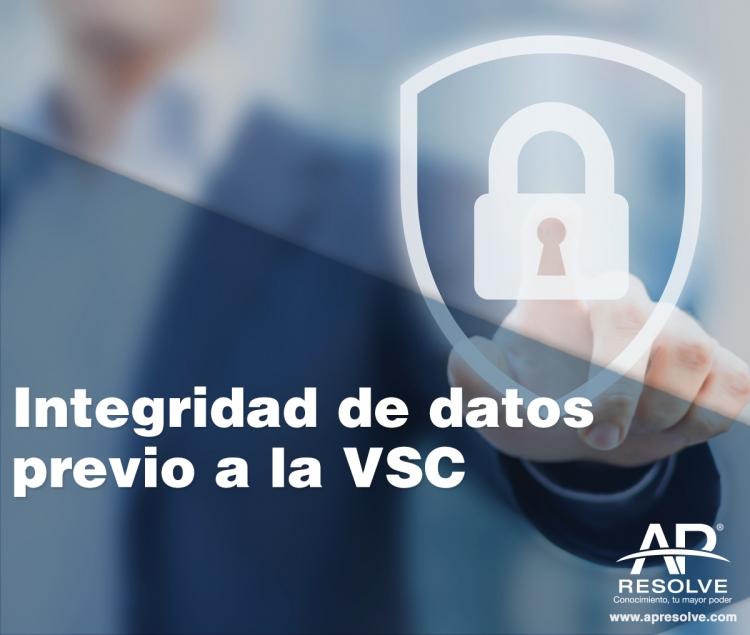 20 May. 2020 Integridad de Datos (previo a la validación del Sistema Computarizado)