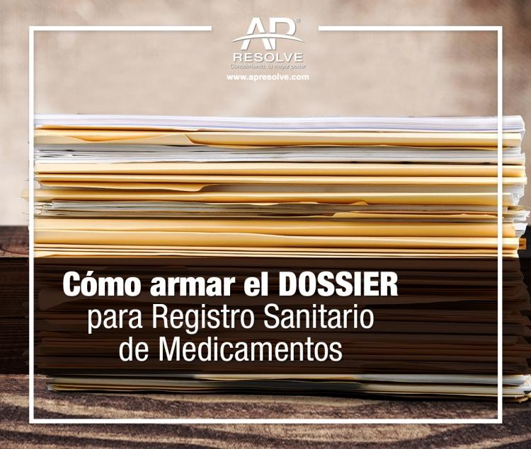 25-26 May. 2020 DOSSIER, registro sanitario de medicamentos