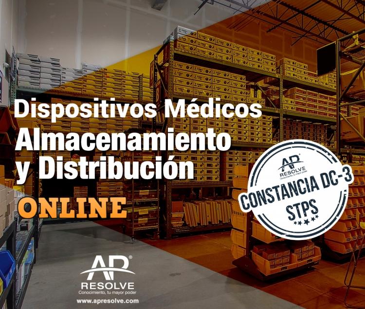 11-12 Nov. 2020 Buenas Prácticas de Almacenamiento y Distribución (Dispositivos Médicos