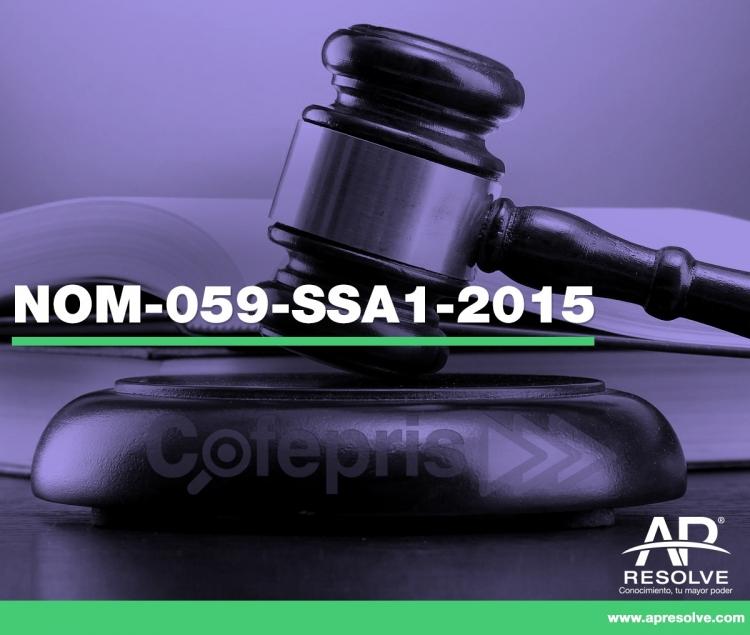01 Abr. 2020 ONLINE Auditorias Internas, cumplimiento a NOM-059-SSA1-2015