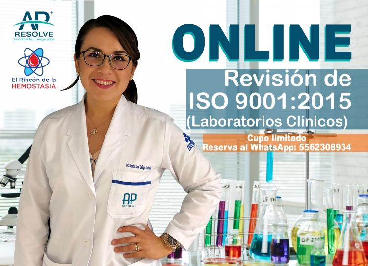 02-Abr. 2020 ONLINE Revisión de ISO 9001:2015 (Laboratorios Clínicos)
