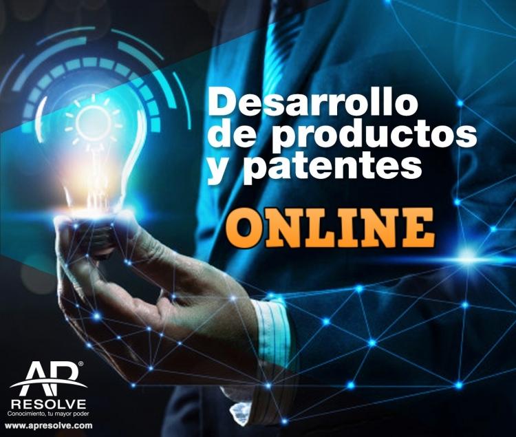 05 Agt. 2020 ONLINE Desarrollo de productos y patentes