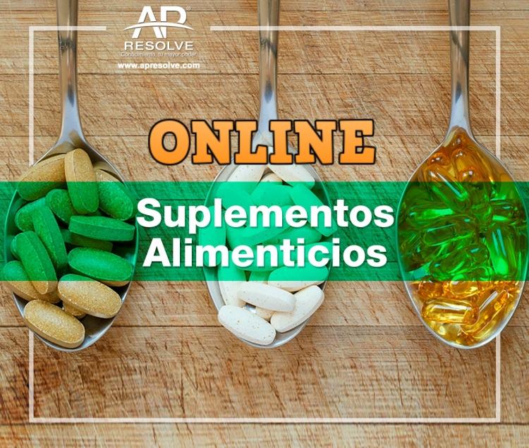 06 Nov. 2020 ONLINE Buenas Prácticas de Fabricación de Alimentos y Suplementos Alimenticios